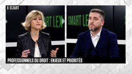 Replay Vidéo de l'interview XLO dans l'émission Smart Lex (B Smart TV) / Interview Ch Dhiver